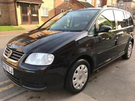 V W TOURAN SPORT! Diesel 6 speed manual 7 seater looks and drives like new