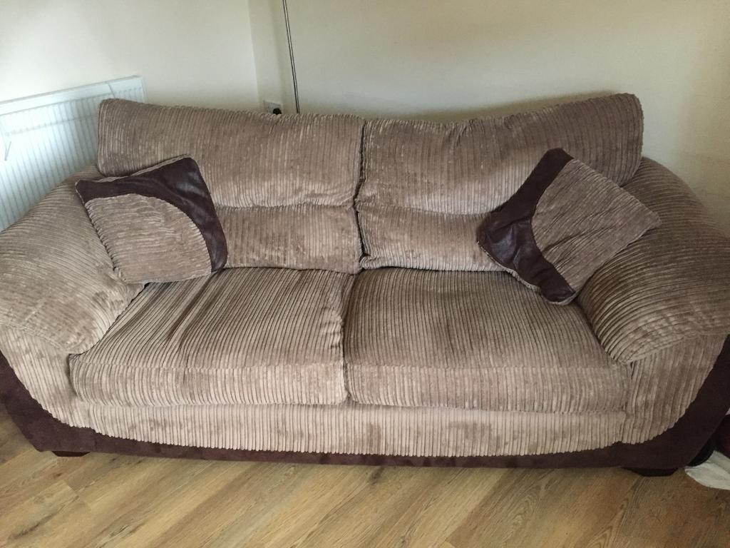 Priced Reduced Dfs Large Three Seater Sofa Vgc In