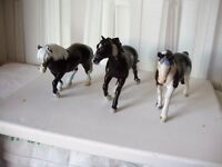 Breyer and Schleich ponies
