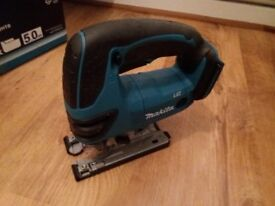 Makita 18v DJV180 LXT Cordless Jigsaw Lithium Ion Body Only.