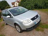 Vw Touran 1.9tdi 2005 (mpv, 7 or 5 seater, diesel, seat, golf)