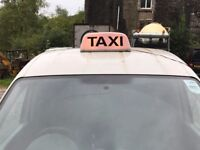 Taxi / Tacsi Magnetic Roof Light - Welsh/English Light - 12v Plug - Very Solid and Heavy Duty