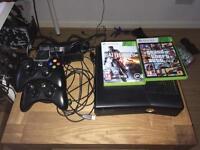 Xbox 360 + 2 games