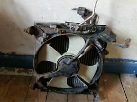 Honda civic mb 2000 ac radator / fan
