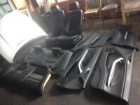 BMW e46 330ci coupe leather seats and arm rest in black
