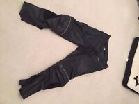 Buffalo motor cycle trousers great condition size 34 in waist