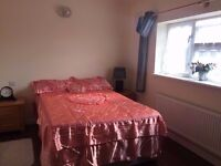 Beautiful Double room Available now in feltham near Heathrow Airport all bills are included .