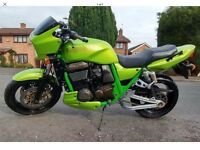Kawasaki zrx 1200 muscle bike