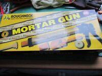 New Roughneck Mortar Gun & accessories