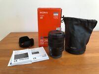 Sony 24-70mm F4 Zeiss OSS lens