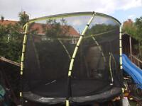 Plum like new trampoline