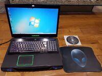 Alienware M17x. 8GB ram. 450GB HDD. intel i-7- 2670GM