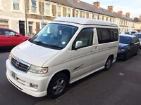 Mazda Bongo Aero City Runner Campervan, Side Conversion, Pop Top AFT, Diesel Automatic
