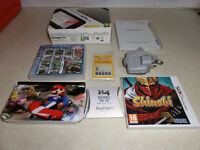 Nintendo 3DS XL Excellent Condition Boxed with charger 2 3DS games plus lots of extras £160