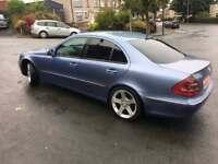 Mercedes E270 Cdi, elegance, manual, diesel, swap p/x see description