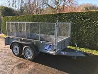 Ifor Williams 3.5 tonne caged sided trailer