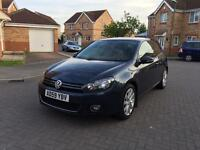2010 VOLKSWAGEN GOLF 2.0 TDI GT 12 MONTH MOT FULL SERVICE HISTORY LOW MILEAGE FULL HPI CLEAR