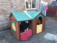 Children's garden plastic Wendy house