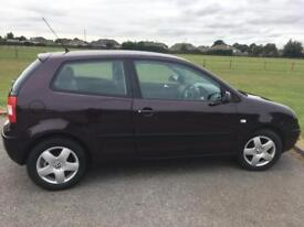 VW Polo 1.4 2003 low mileage