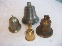 4 Small Bells, Various designs. ONLY £8 The Lot. See Ad & Pics for more details