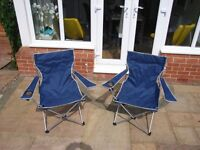 Two picnic/concert/outdoor chairs