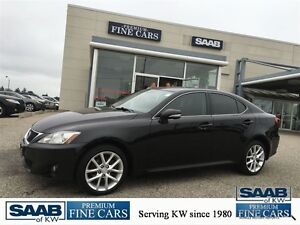 2012 Lexus IS 250 Show Room Condition Paddle Shift Awd  Black On Kitchener / Waterloo Kitchener Area image 1