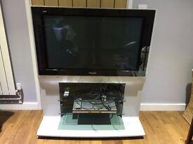 """Panasonic Viera TH-37PE30 37"""" HD Plasma Television + Multi Region Panasonic DVD Player"""