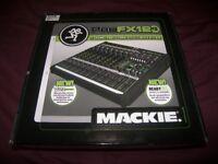 Brand New ! Mackie ProFX12 V2 , Professional Mixer + USB Recording Interface . Setup via Mac or PC.