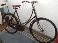 Vintage BSA WW2 bicycle