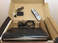 Sky + HD box, controller and on demand box