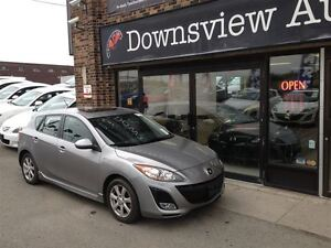 2011 Mazda MAZDA3 SPORT AUTO!! HATCH!! FULLY LOADED!! LEATHER!!