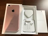 IPhone 7 - Rose Gold -128GB - EE Network - Immaculate Condition