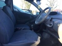 2001 TOYOTA YARIS GS i-VVTI 1.0, 3 DOORS,PETROL,MANUAL,AIR CON,HEATER,CD PLAYER,AUX