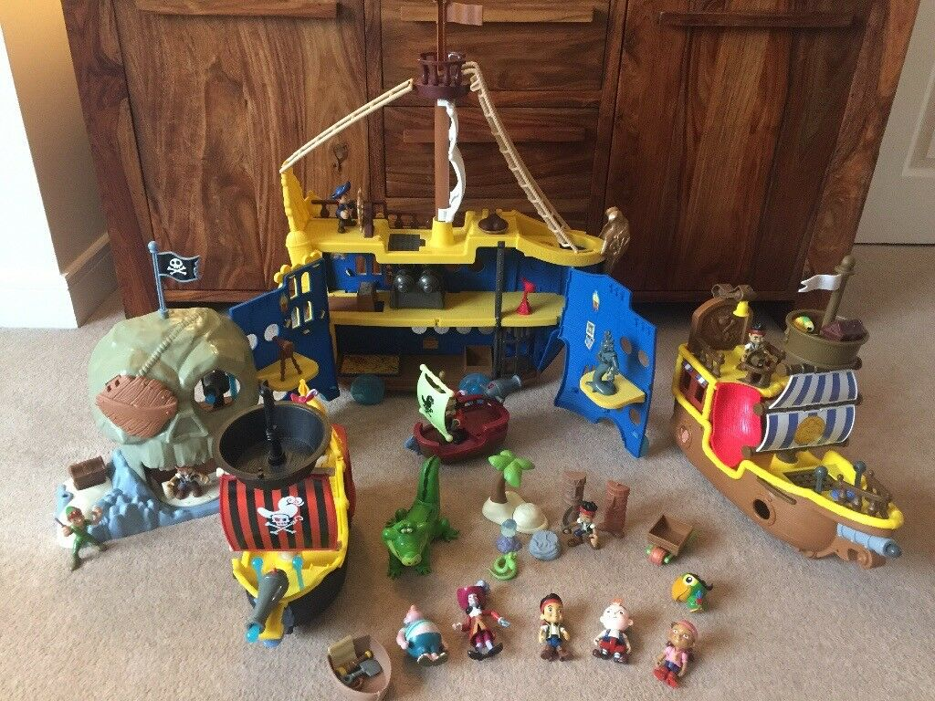 Disney Jake and the Never Land Pirates Play Set Toys | in ...