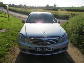 Merc estate - tidy car