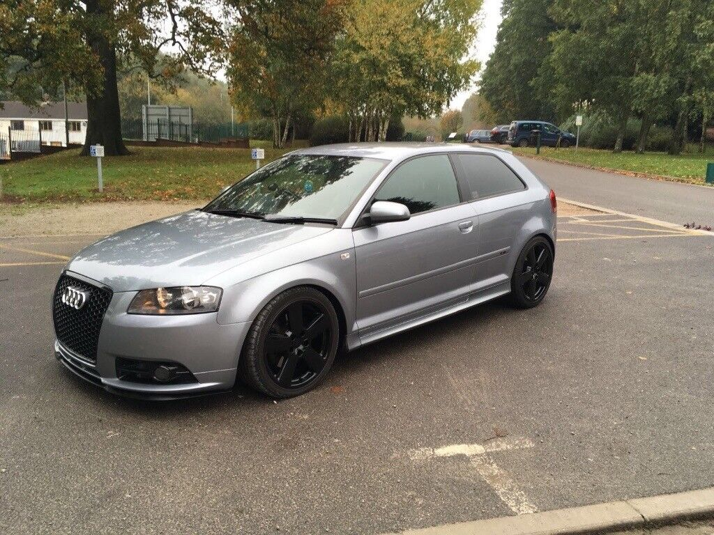 audi a3 2008 s line tdi 236bhp modified in long eaton. Black Bedroom Furniture Sets. Home Design Ideas