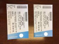 Shania Twain Birmingham Arena 24.09.18 - 2 Tickets Face Value £79.15 each