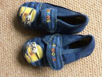 Minion slippers Size 12 Collection from Moreton Hall, Bury St Edmunds