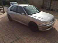 Peugeot 306 1.8 manual petrol gti 6 exhaust 205 gti wheels 1999 silver