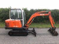Pel Job EB28.4 mini digger / excavator new tracks no vat