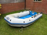 Inflatable Dinghy Boat Tender RIB Zodiac 3.1m