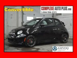 2013 Fiat 500 C Abarth Convertible *Cuir,Mags 17po.