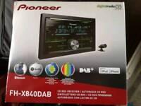 Pioneer FH-X840DAB Next Generation CD Tuner with Bluetooth, USB, DAB/DAB+ and Spotify