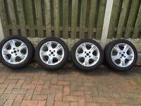 4 MASDA MX 5 Alloy Wheels And Tyres