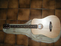 Tanglewood Roadster TWRT-E Electro acoustic travel guitar