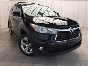 2015 Toyota Highlander Limited: Accident Free, AWD.