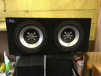 "Twin 12"" Subs"