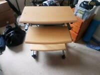 Pine desk unit