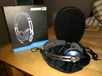 Sennheiser headphones.