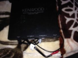 Kenwood monitor with DVD receiver